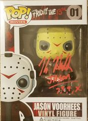 Kane Hodder autographed FUNKO pop, with inscription