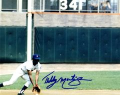 Ted Martinez autograph 8x10, New York Mets