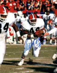 Ernest Byner autograph 8x10, Cleveland Browns