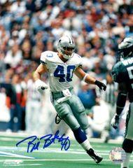 Bill Bates autograph 8x10, Dallas Cowboys