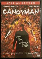 Tony Todd autographed Candyman DVD