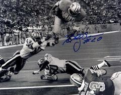 Billy Sims autographed 8x10, Detroit Lions