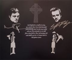 Boondock Saints autograph 16x20 photo, Norman Reedus and Sean Flanery