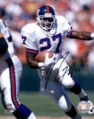Rodney Hampton autograph 8x10, New York Giants