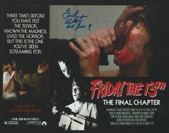 Ted White autograph 8x10, Friday the 13th Part 4, Jason Vorhees