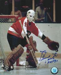 Bernie Parent autograph 8x10, Philadelphia Flyers, HOF 86