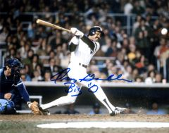 Oscar Gamble autograph 8x10, New York Yankees, nice inscription