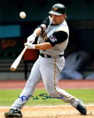 Matt Stairs, autographed 8x10, Pittsburg Pirates
