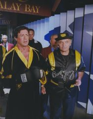 Burt Young autograph 8x10 Rocky Balboa, final walk to ring