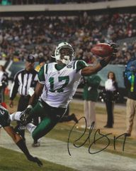 Plaxico Burress autograph 8x10, New York Jets