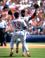 Craig Wilson autograph 8x10, St. Louis Cardinals with inscript
