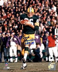 Boyd Dowler autograph 8x10, Green Bay Packers, Super Bowl I II