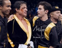 Milo Ventimiliglia, autographed 8x10, Rocky Balboa, Robert Jr. inscription