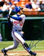 Henry Rodriguez autograph 8x10, Montreal Expos, w/inscript