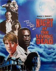 Tony Todd autograph 11x14 photo, Night of the Living Dead