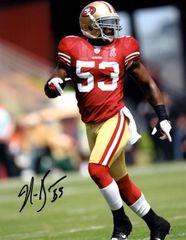 NaVorro Bowman autographed 8x10, San Fransisco 49ers