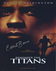 Coach Boone autograph 8x10, Remember the Titans, Disney