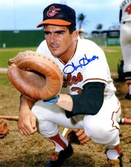 Larry Haney autograph 8x10, Baltimore Orioles