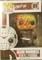 Ted White autograph FUNKO pop, with inscription