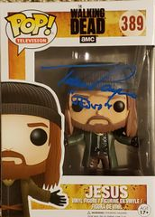 Tom Payne autograph Funko pop, The Walking Dead, Jesus