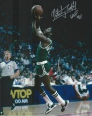 Nate Archibald autograph 8x10, Boston Celtics, HOF inscription