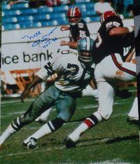 Mel Renfro autograph 11x14, Dallas Cowboys, HOF 96