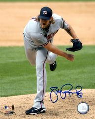 Jon Rauch, autographed 8x10, Washington Nationals