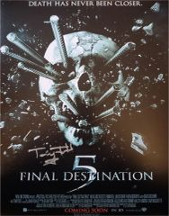 Tony Todd autograph 11x14, Final Destination Part 5