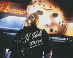 Autograph Kane Hodder, Friday the 13th, Jason Vorhees