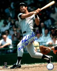 Roy White, autographed 8x10, New York Yankees, 77 78 WSC inscription