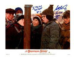 Scott Schwartz autograph 8x10, Christmas Story, rare inscript