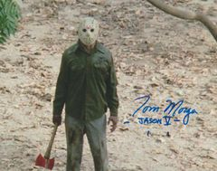 Tom Morga autograph 8x10 Friday the 13th Part V