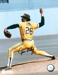 Jim Bibby, autographed 8x10, Pittsburg Pirates