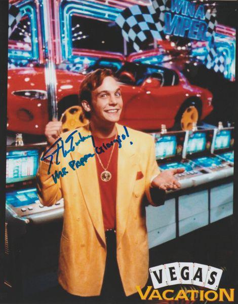 Ethan Embry Autograph 8x10, Vegas Vacation, Inscription