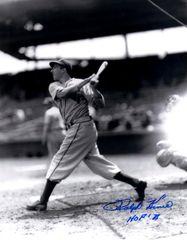 Ralph Kiner autograph 8x10, Pittsburgh Pirates, HOF 75