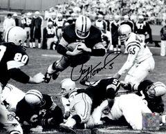 Paul Hornung autograph 8x10, Green Bay Packers