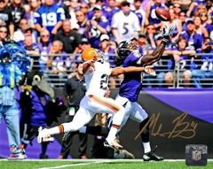 Marlon Brown autograph 8x10, Baltimore Ravens