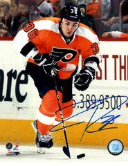 Zac Rinaldo autograph 8x10, Philadelphia Flyers