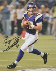 Gus Frerotte autograph 8x10, Minnesota Vikings