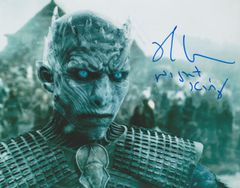 Richard Brake autograph 8x10; Game of Thrones Night King