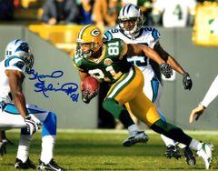 Koren Robinson autograph 8x10, Green Bay Packers
