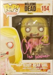 Addy Miller signed FUNKO Pop, with 1st walker inscription
