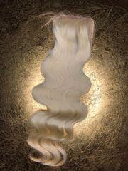 Blonde Wavy Closure