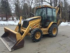 2001 Cat 430D w/Hyd Thumb, Cab Backhoe