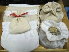 Embroidered Linens: Bags, Padded