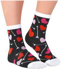 Arrows & Hearts Crew Socks