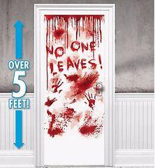 Asylum Blood Dripping Door Cover