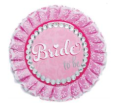 Elegant Bride Deluxe Button