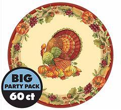 "Joyful Thanksgiving Round Plate, 7"""