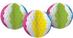 Beach Ball Honeycomb Decorations, 3ct